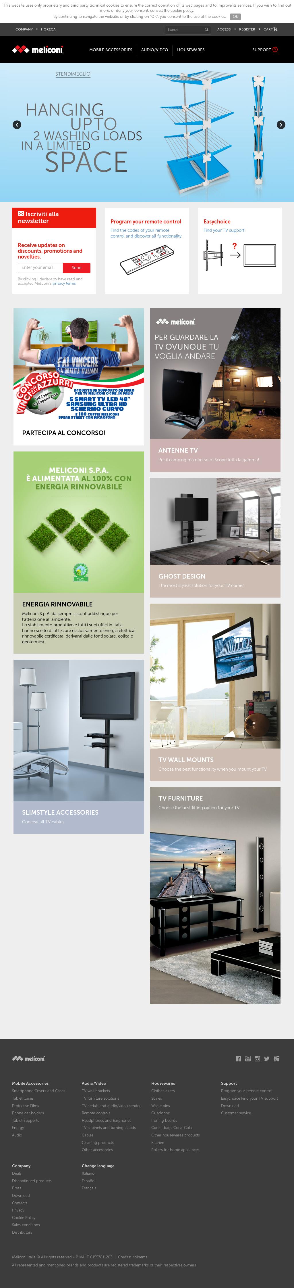 Meliconi Tv Meubel.Meliconi Competitors Revenue And Employees Owler Company Profile