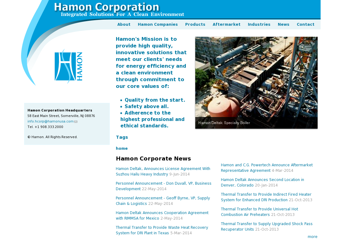 Hamon Deltak Competitors, Revenue and Employees - Owler Company Profile