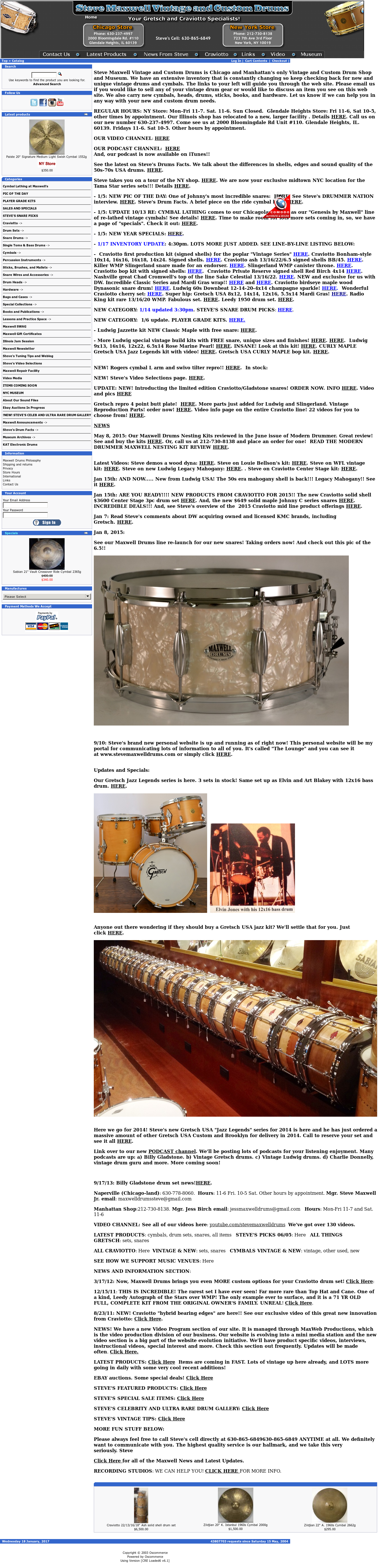 Steve Maxwell Drum Shop Competitors, Revenue and Employees - Owler
