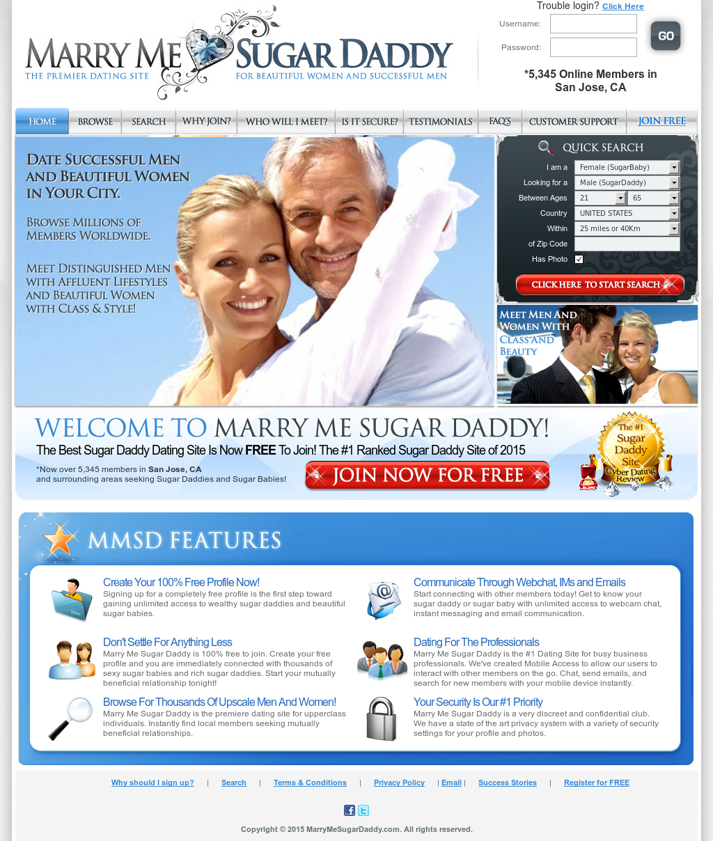 Upper class dating sites