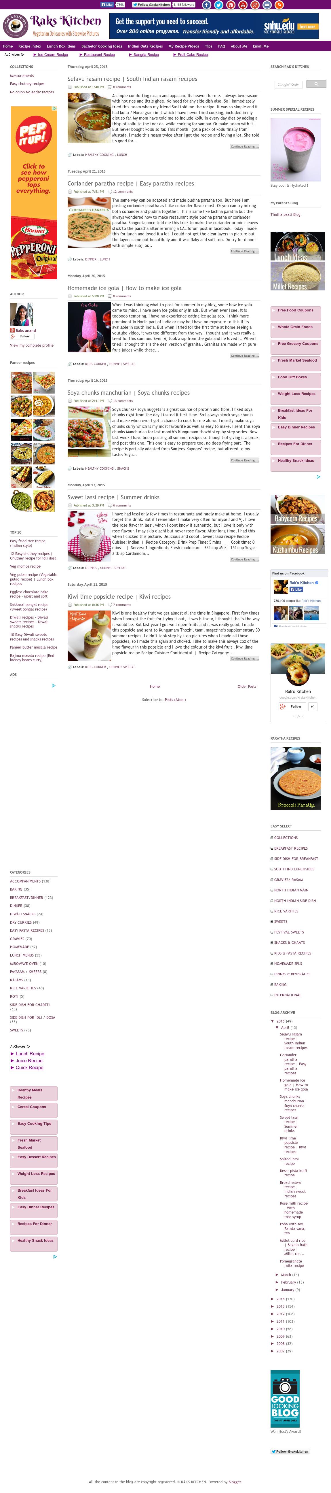 Fantastic Raks Kitchen Vadai Embellishment - Best Kitchen Ideas - i ...