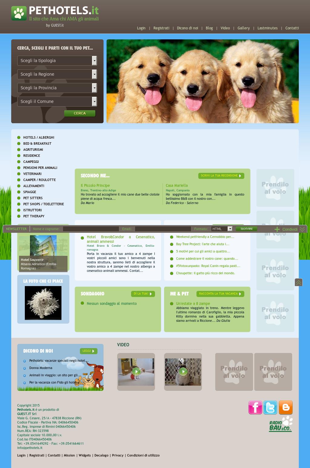 La Mia Casa Group pethotels - viaggiare con animali competitors, revenue and
