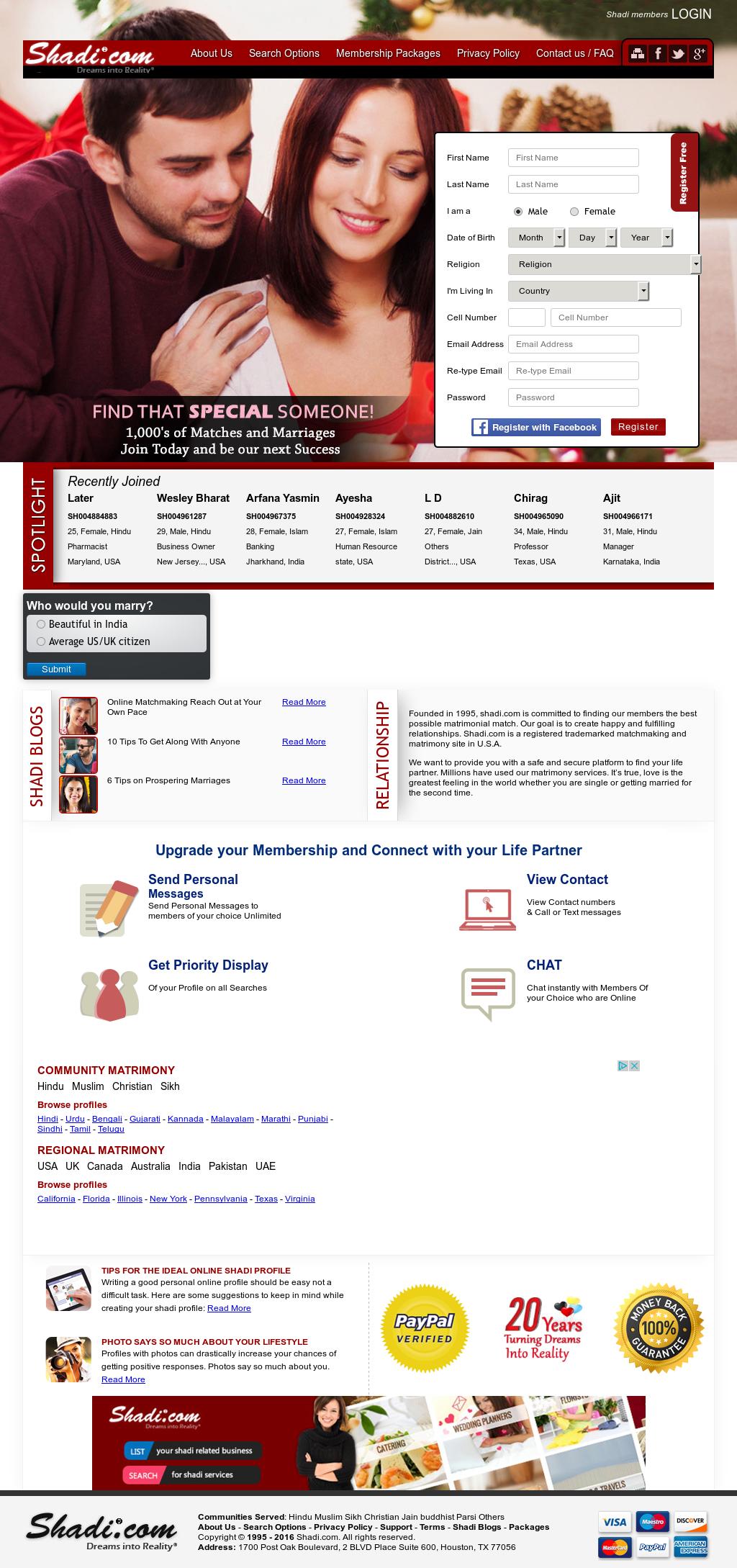 Shadi Matrimonials Competitors, Revenue and Employees