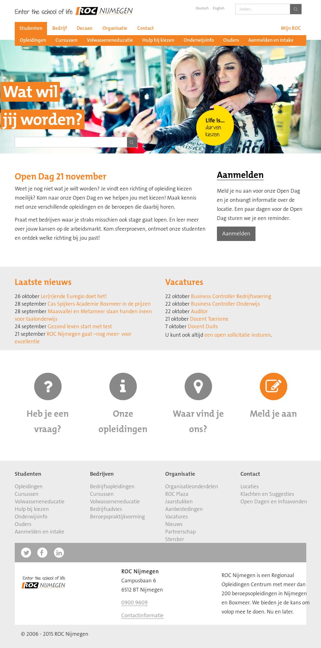 open sollicitatie nijmegen Roc Nijmegen Competitors, Revenue and Employees   Owler Company