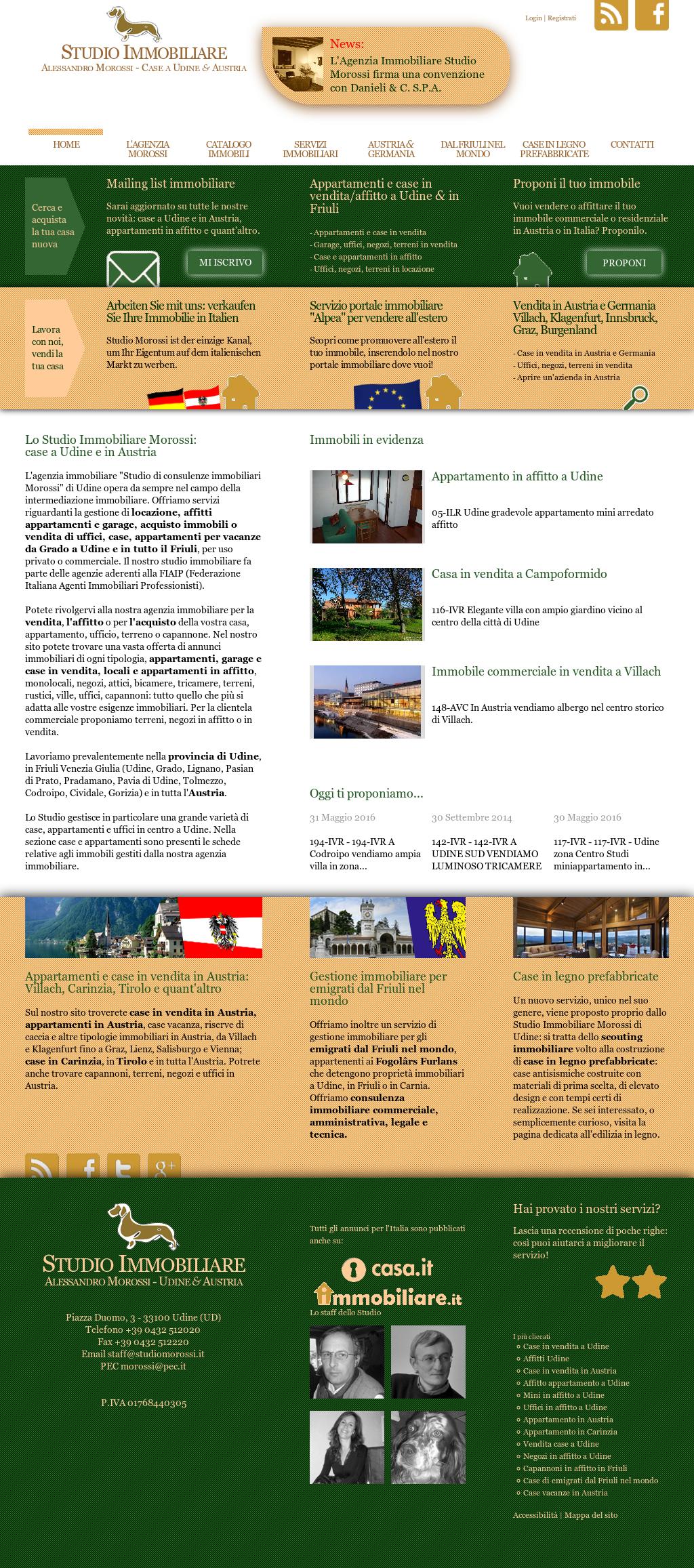 Giardino In Città Udine studio immobiliare morossi udine - alpea immobiliare austria