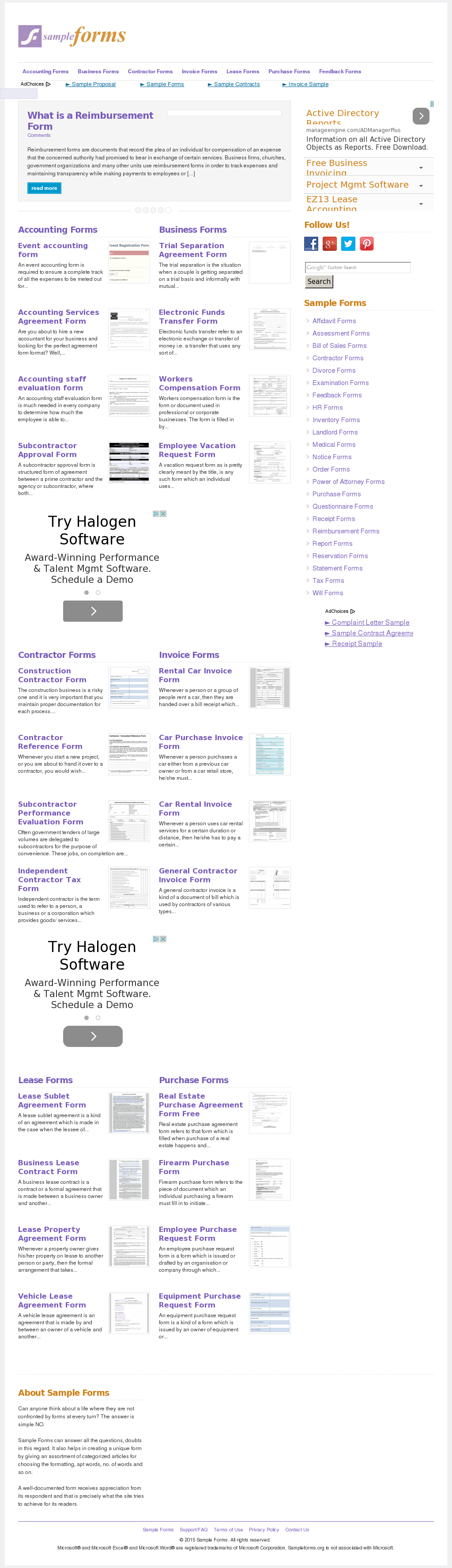 Sample Forms Competitors, Revenue and Employees - Owler Company Profile