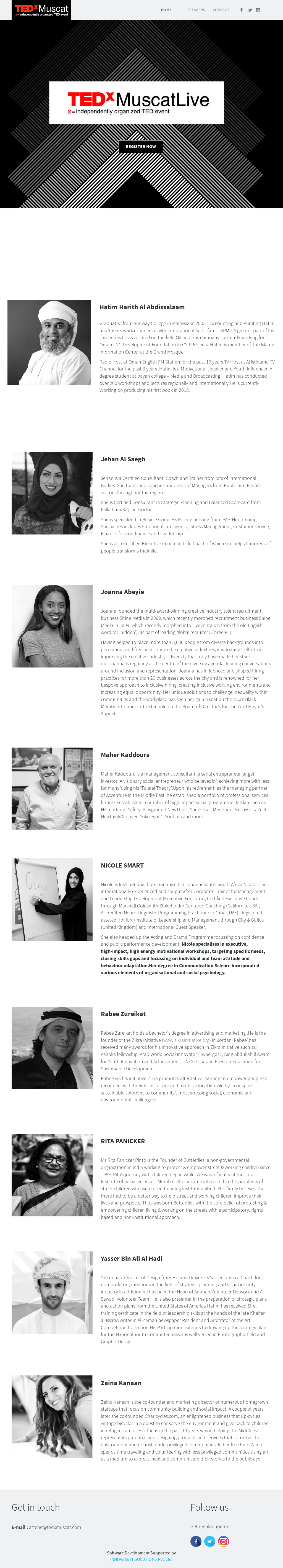 Tedxmuscat Competitors, Revenue and Employees - Owler Company Profile