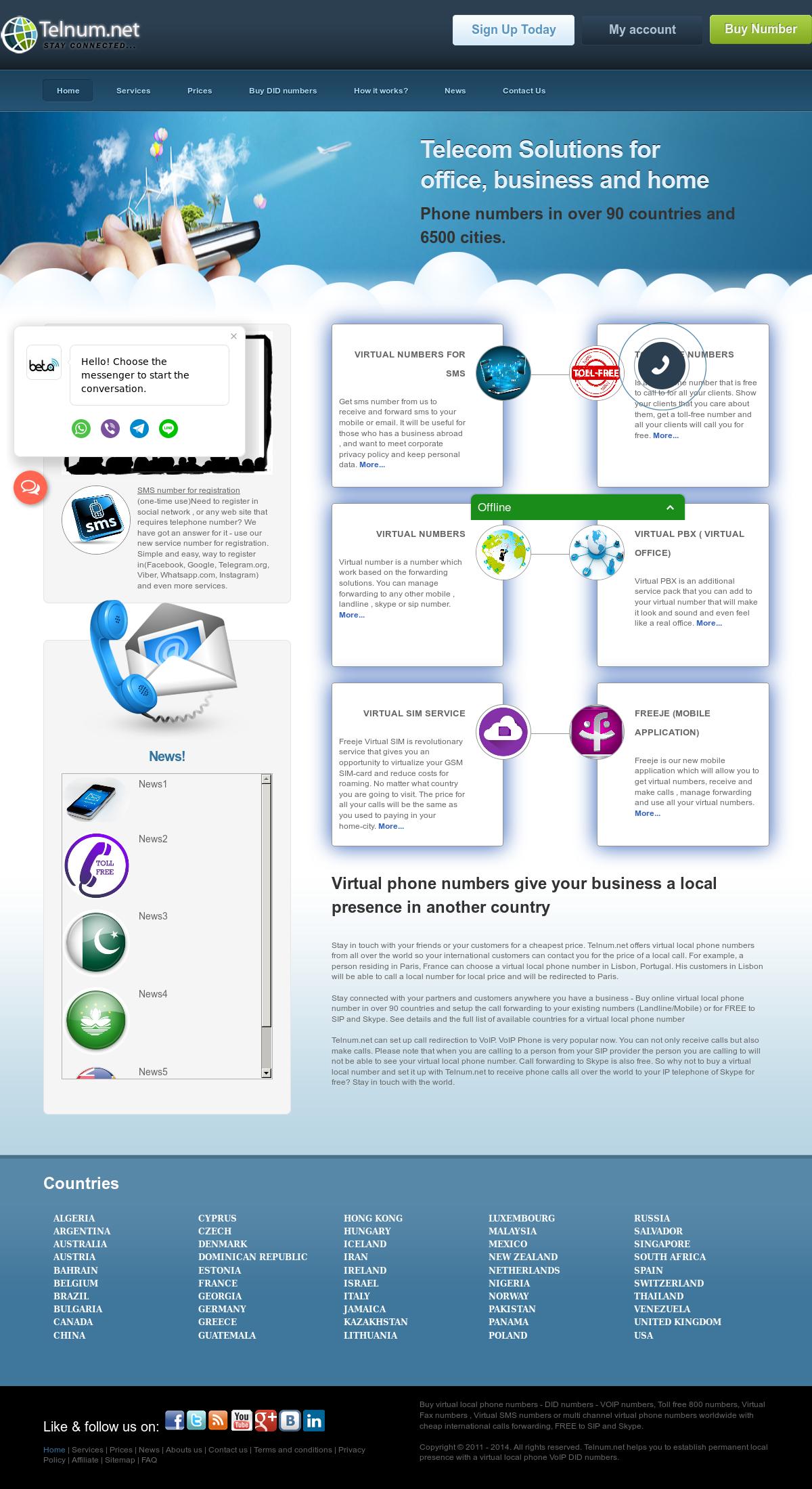Telnum Competitors, Revenue and Employees - Owler Company Profile