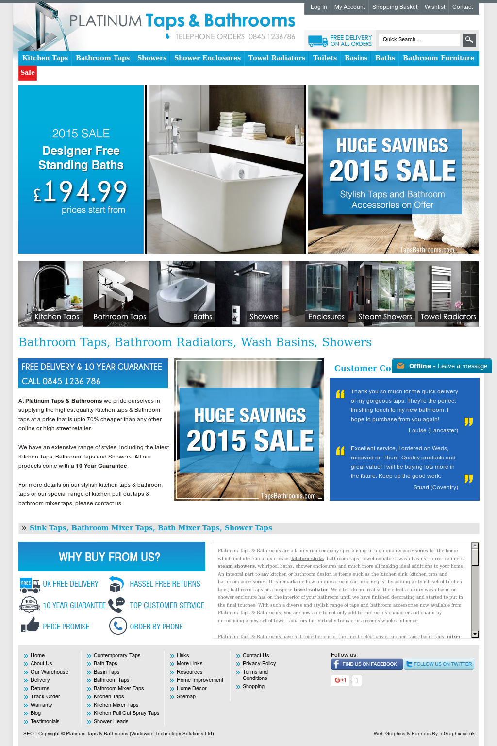 Platinum Taps And Bathrooms Competitors, Revenue and Employees ...