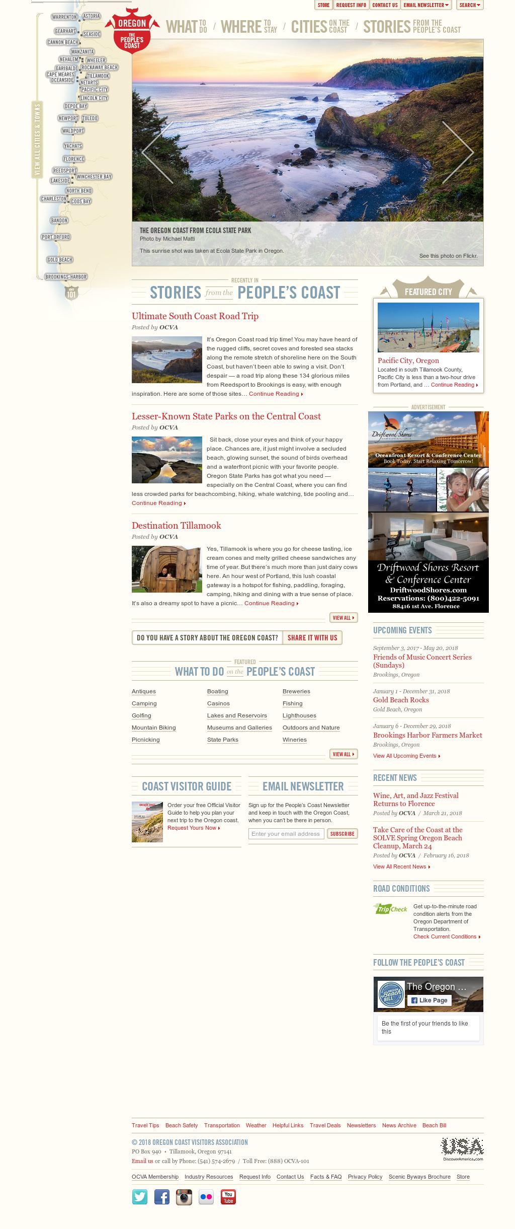 The Oregon Coast Competitors Revenue And Employees Owler Company
