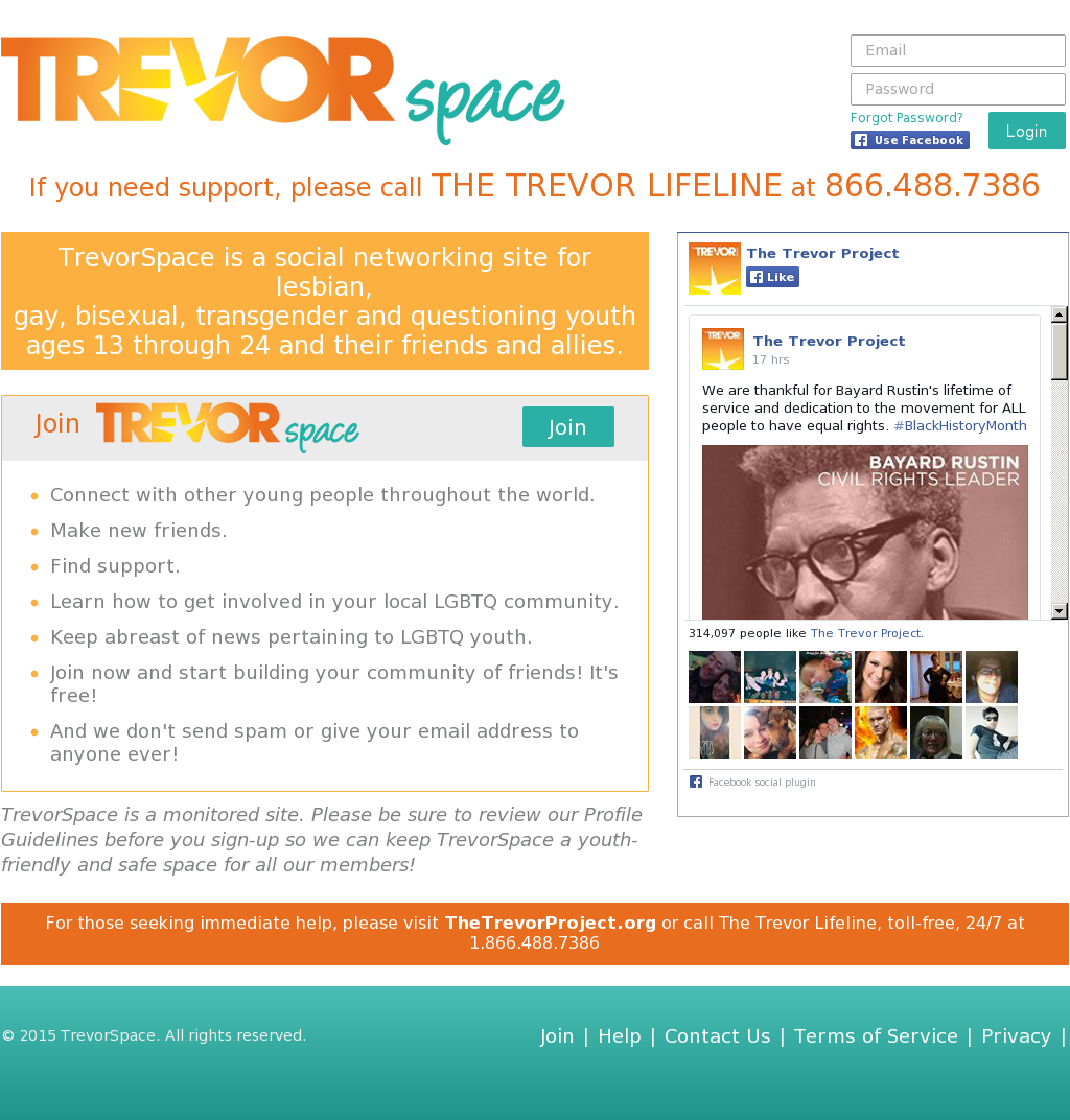 trevorspace dating