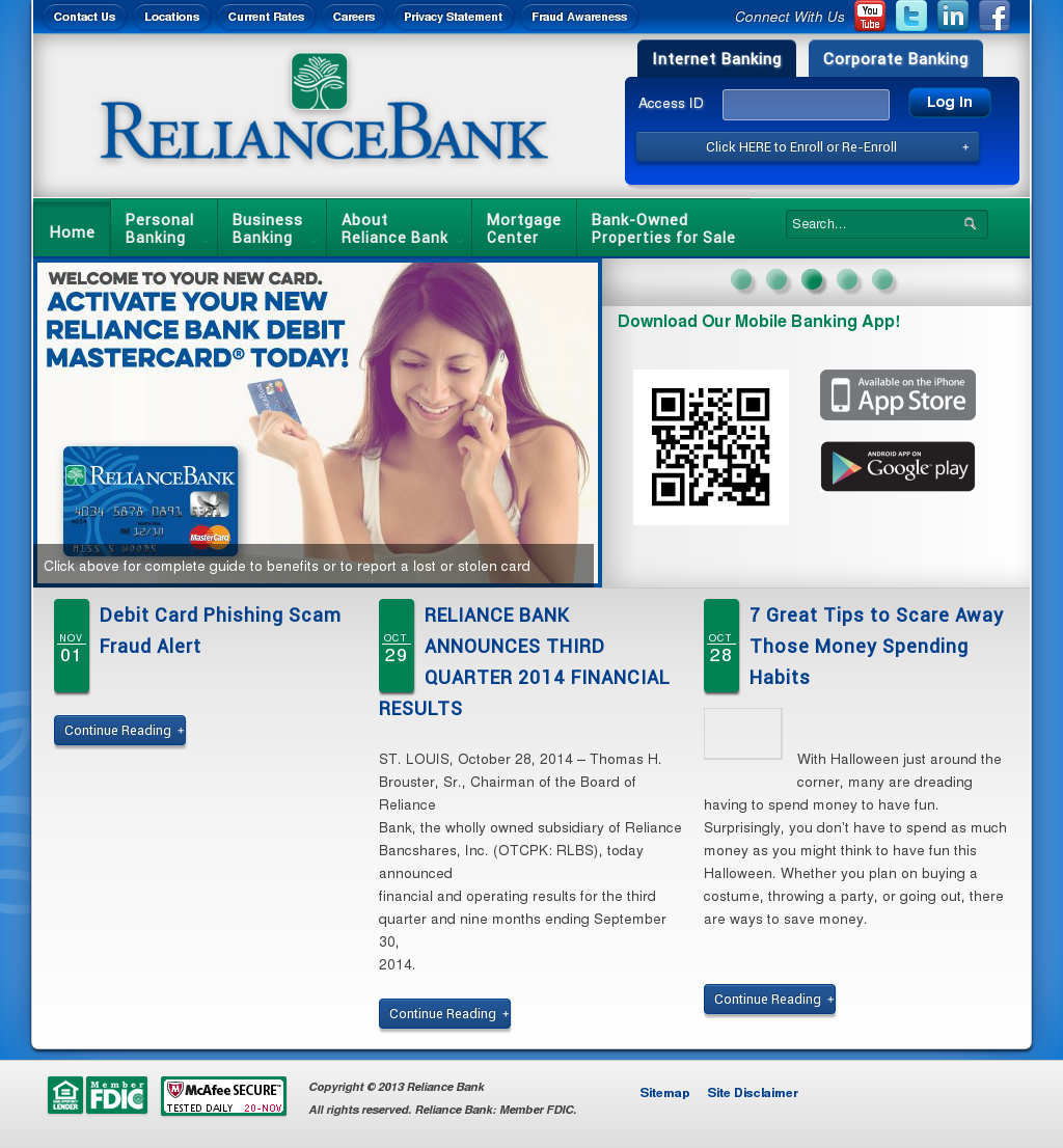 Reliance Bank Competitors, Revenue and Employees - Owler