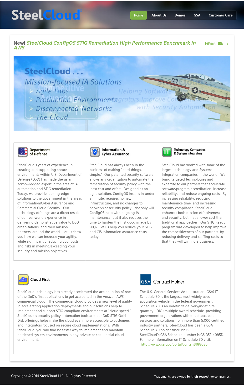 Owler Reports - Press Release: SteelCloud : SteelCloud Adds