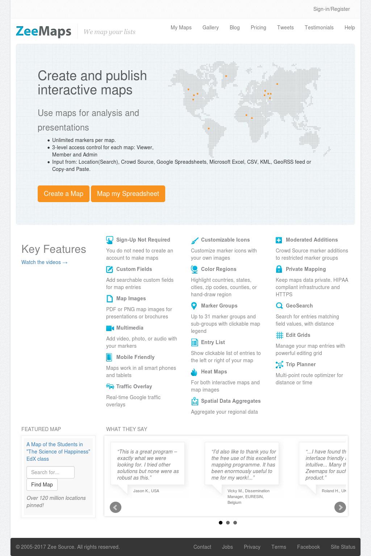 Zeemaps Compeors, Revenue and Employees - Owler Company Profile on