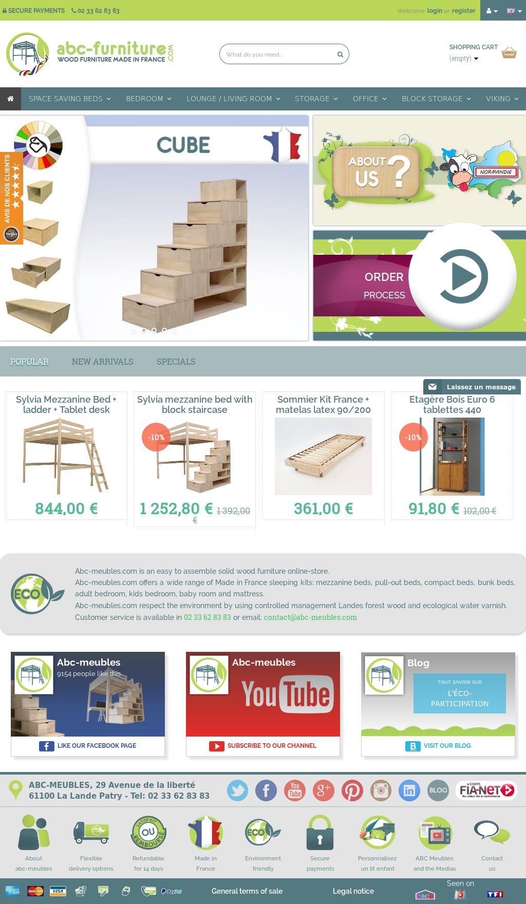 Lit Mezzanine 3 Ans abc meubles competitors, revenue and employees - owler