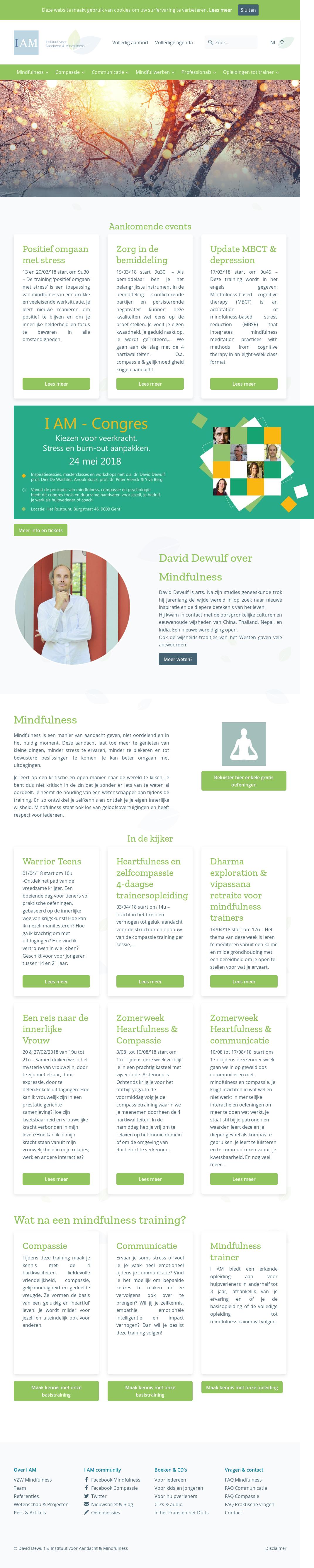 Instituut Voor Aandacht En Mindfulness Competitors Revenue