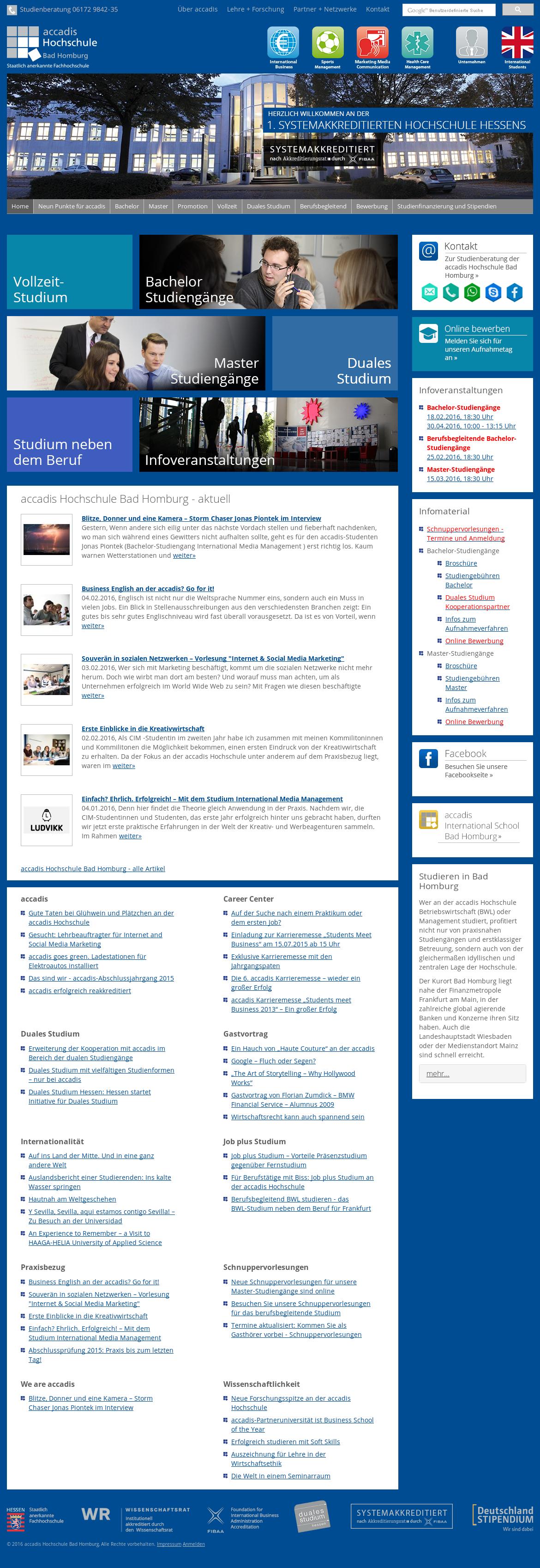 Weihnachtsplätzchen International.Accadis Hochschule Bad Homburg Competitors Revenue And Employees