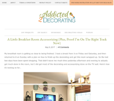 Owler Reports Addicted 2 Decorating Blog And Addition To