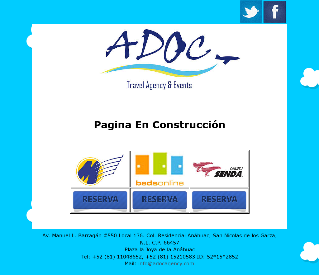 Adoc Travel Agency Events Competitors Revenue And Employees