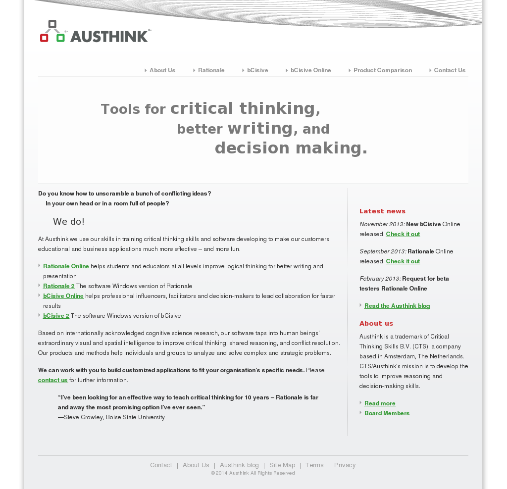 Austhink Competitors, Revenue and Employees - Owler Company