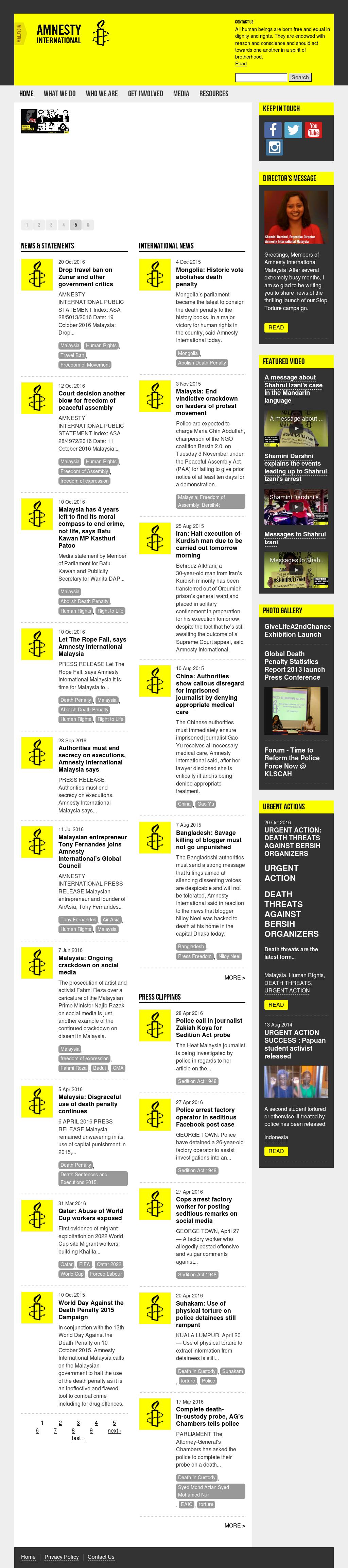 Amnesty International Malaysia Competitors, Revenue and