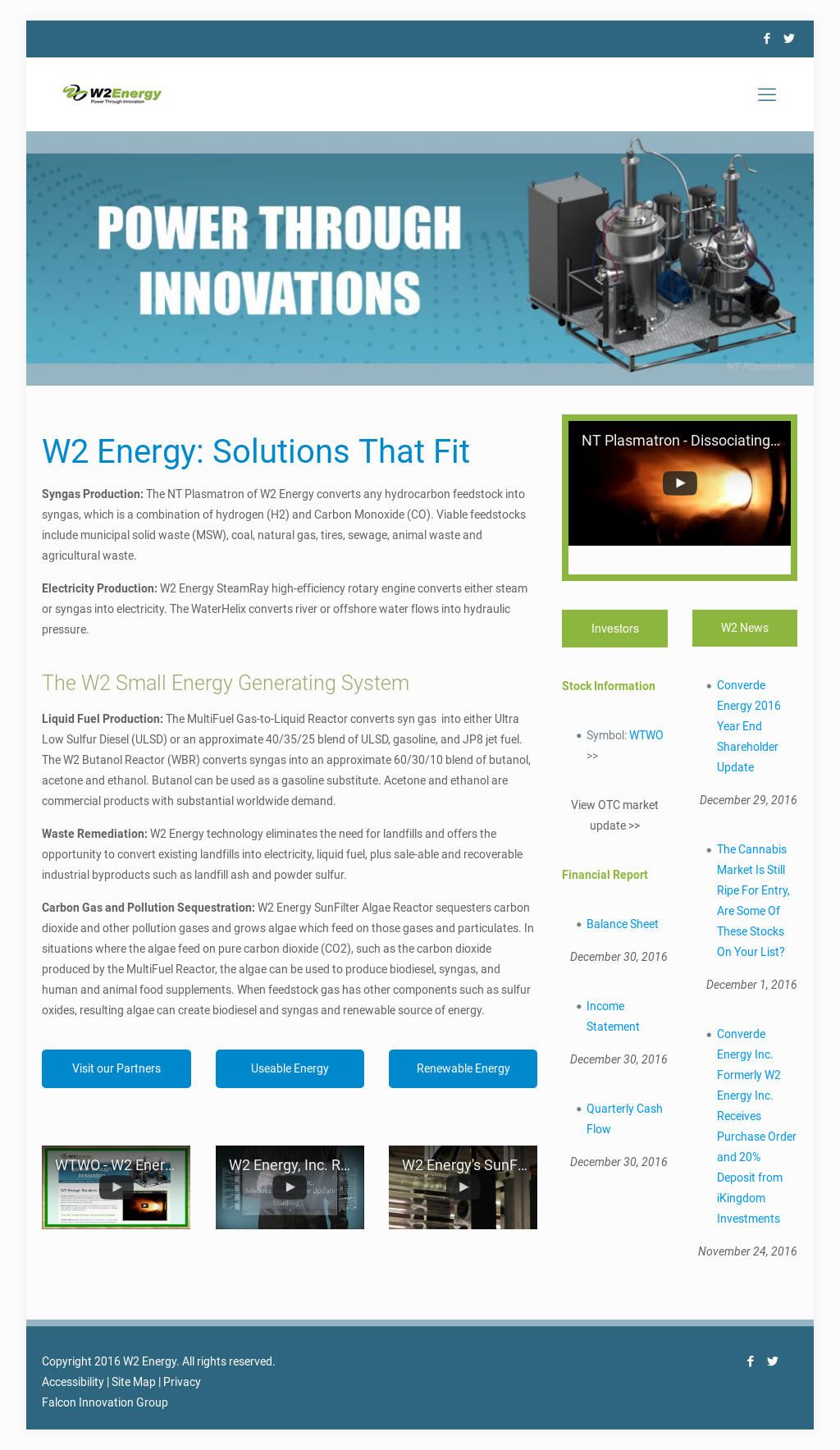W2 Energy Competitors, Revenue and Employees - Owler Company Profile