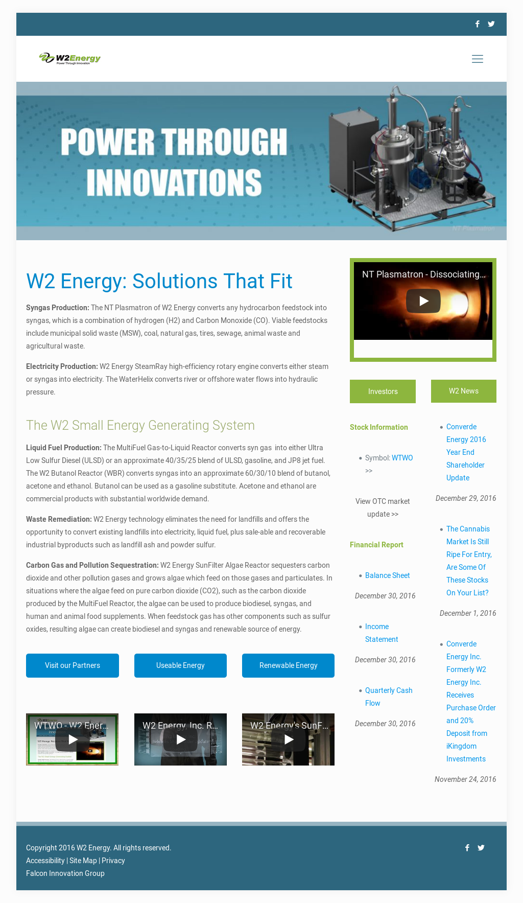 W2 Energy Competitors, Revenue and Employees - Owler Company