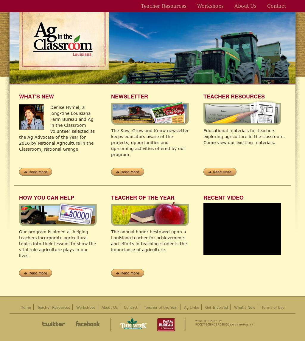 Louisiana Ag In The Classroom Competitors, Revenue and