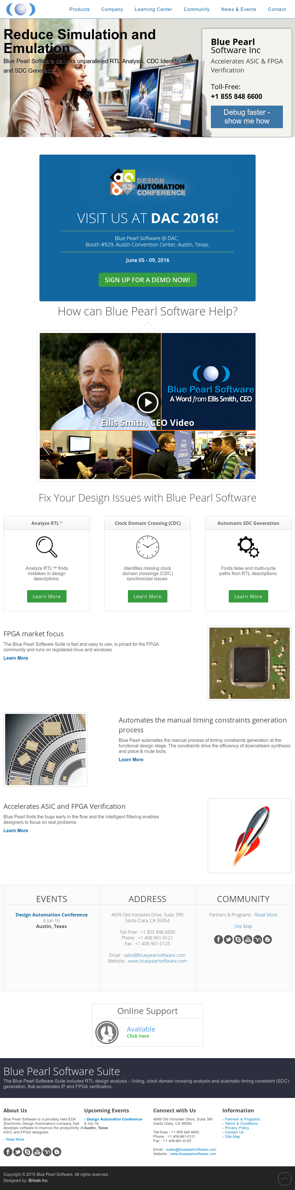 Blue Pearl Software Competitors Revenue And Employees Owler Eda Electronic Design Automation Group Company Profile