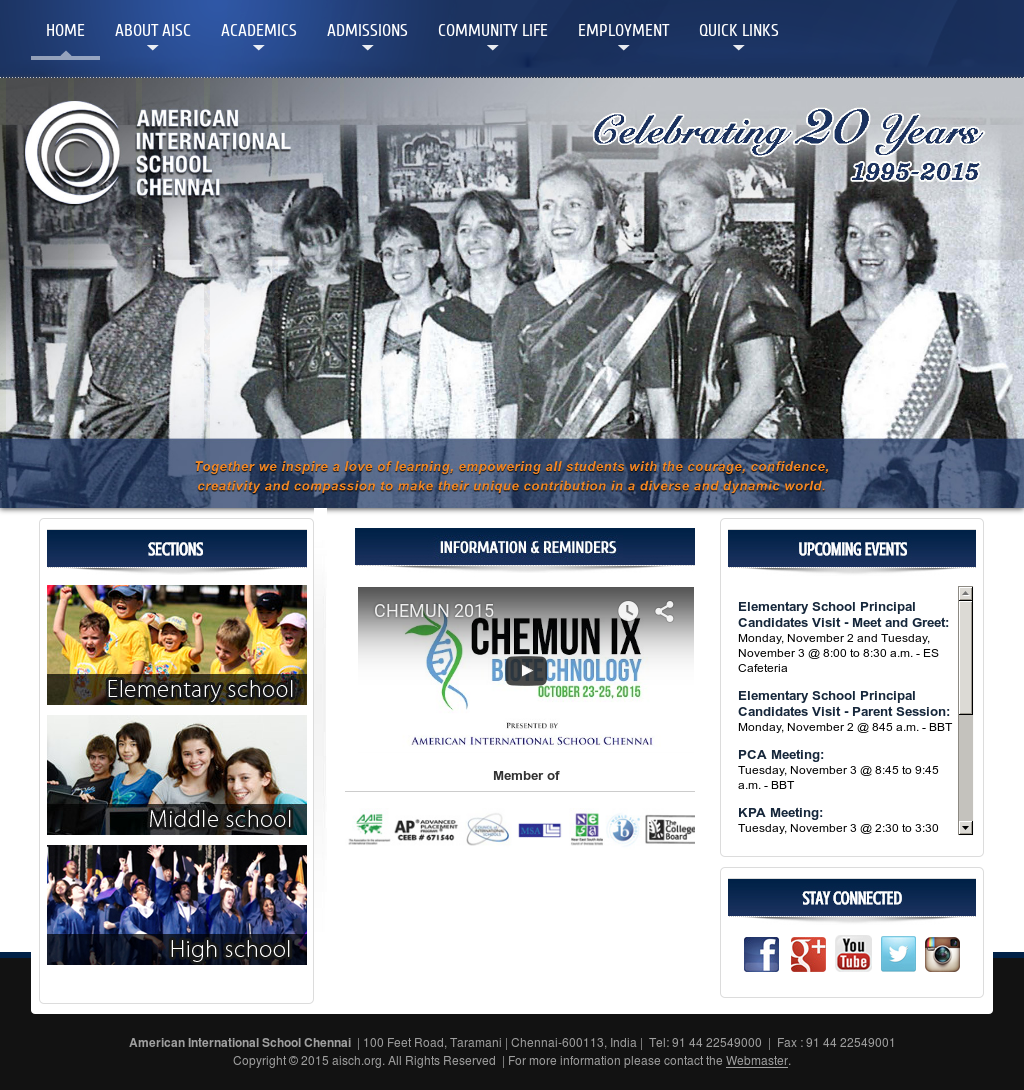 American International School - Chennai Competitors, Revenue