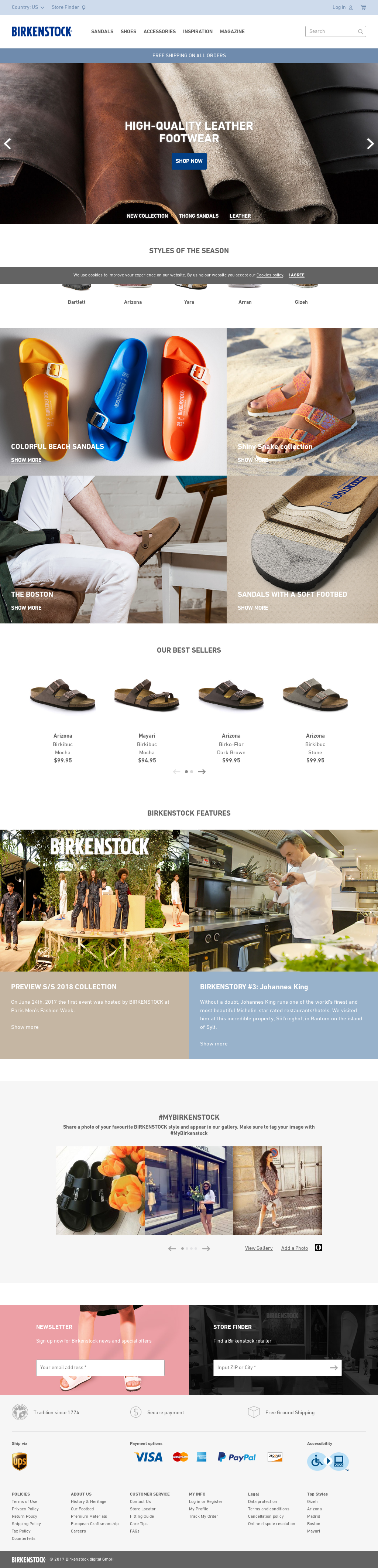 Birkenstock and KPM Team Up on Limited Edition Sandal