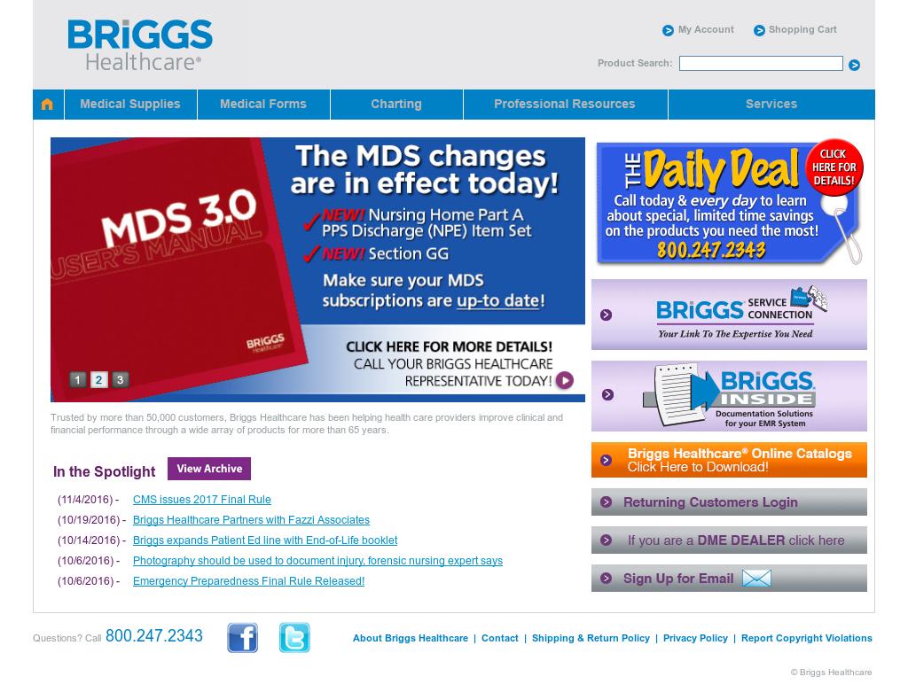 Briggs Healthcare Competitors, Revenue and Employees - Owler Company Profile