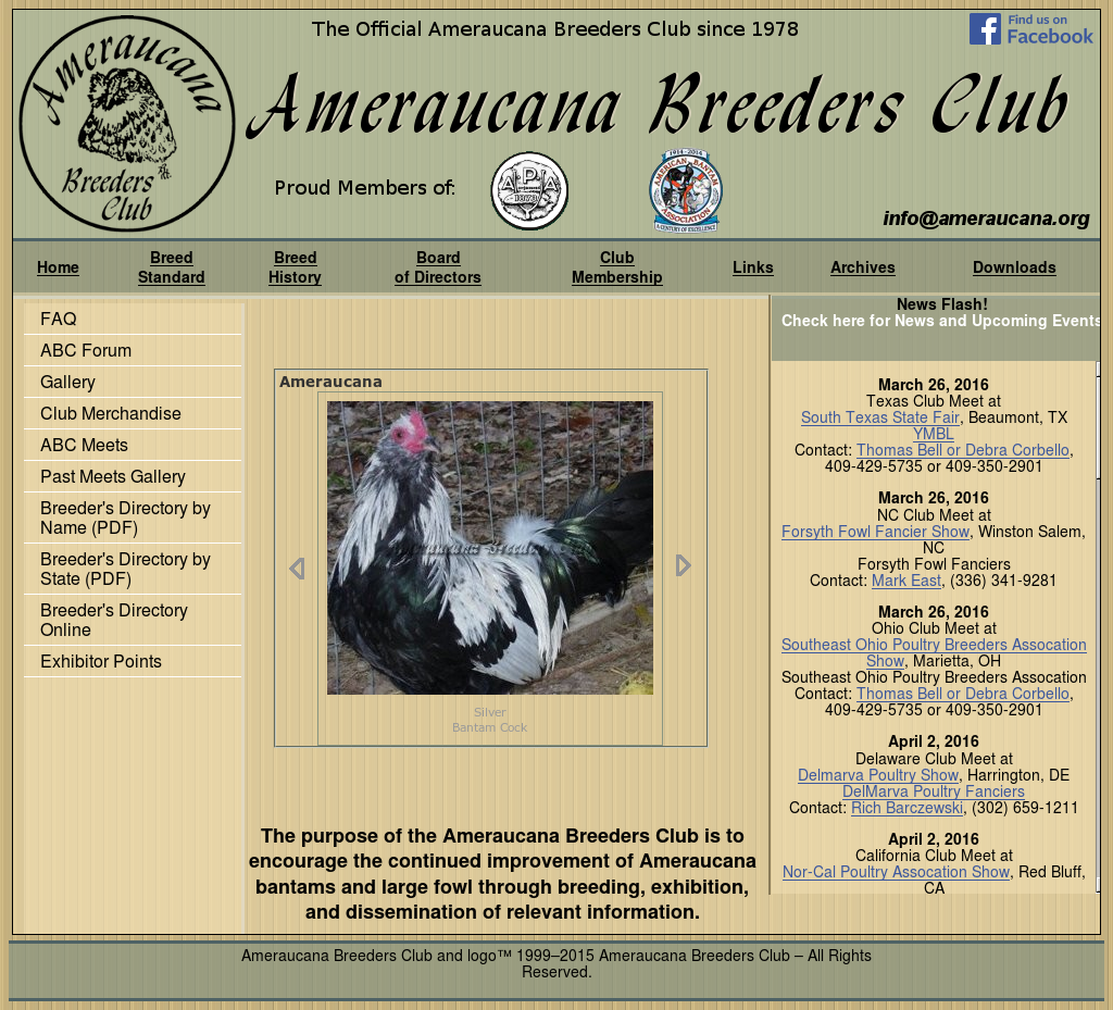 Ameraucana Breeders Club Competitors, Revenue and Employees