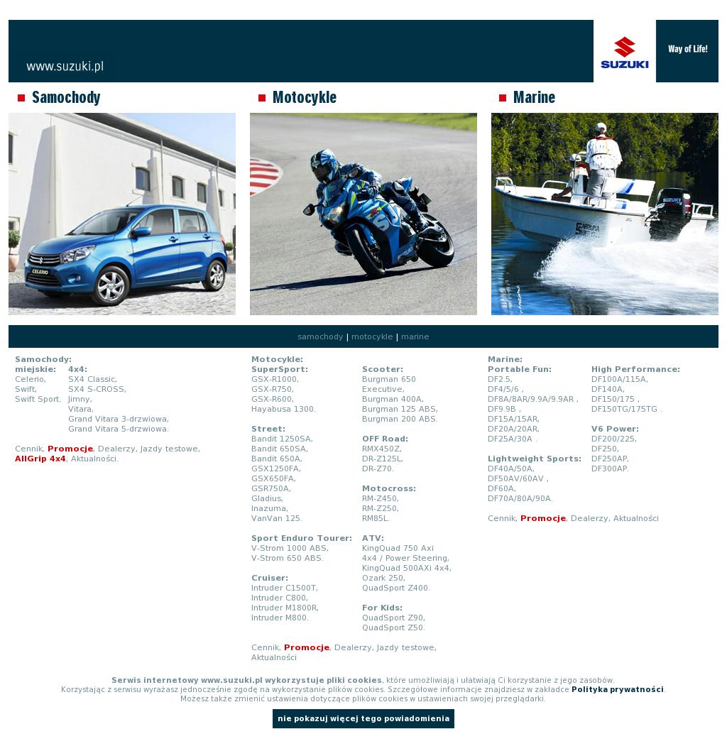 Suzuki Dla Aktywnych Competitors Revenue And Employees Owler