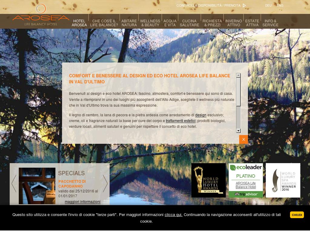 Trattamento Legno Per Uso Alimentare arosea life balance hotel competitors, revenue and employees