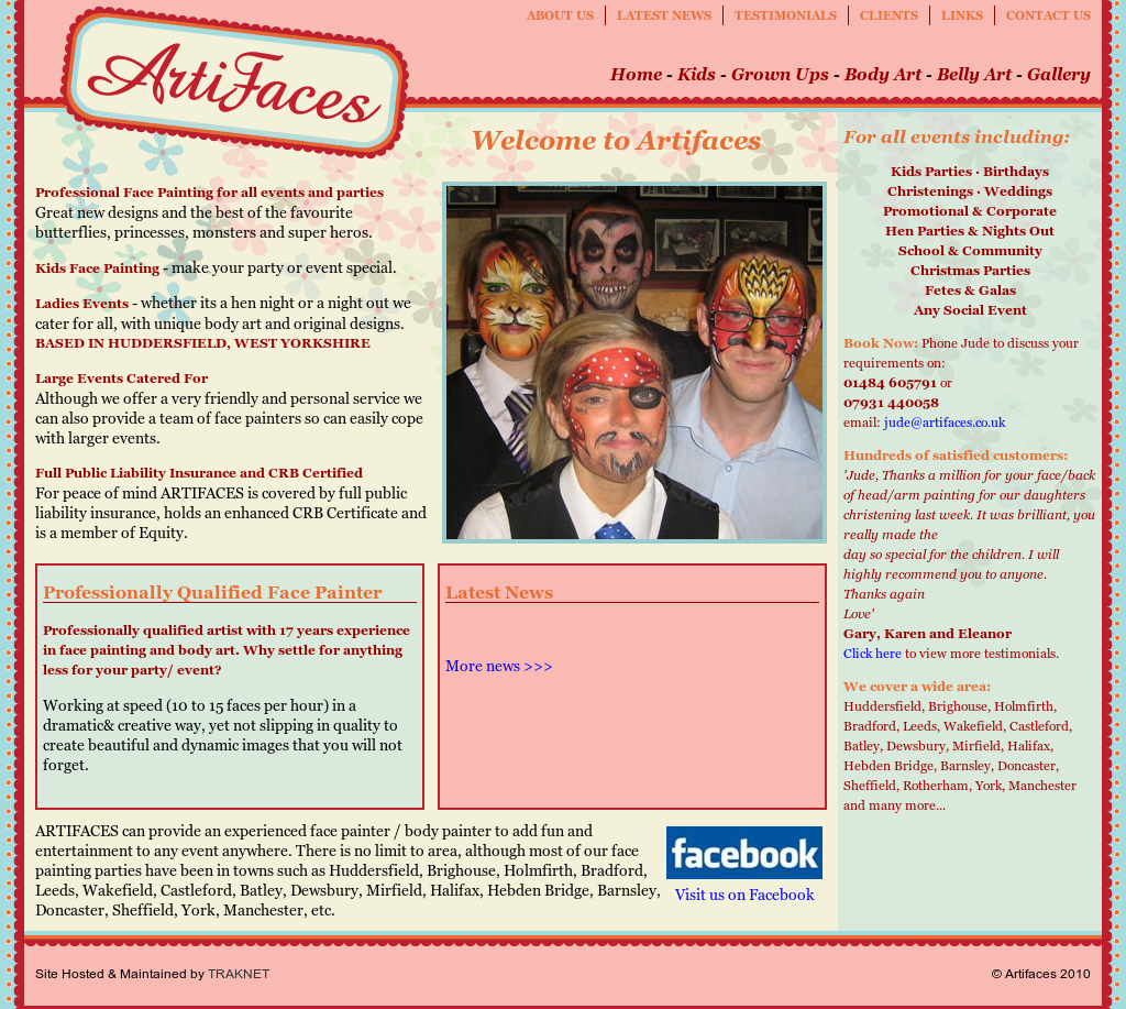 Artifaces Face Painting Body Art Competitors Revenue And Employees Owler Company Profile