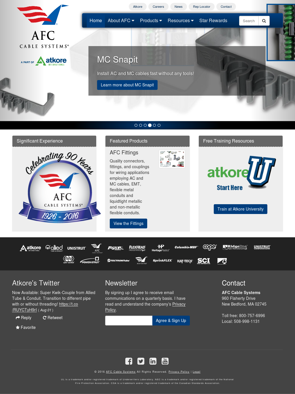 AFC Cable Systems Competitors, Revenue and Employees - Owler Company ...