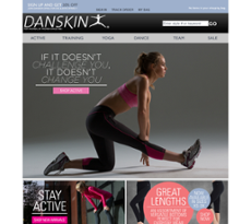 Danskin Promo Codes for November, Save with 20 active Danskin promo codes, coupons, and free shipping deals. 🔥 Today's Top Deal: (@Amazon) Up To 20% Off Danskin. On average, shoppers save $24 using Danskin coupons from steam-key.gq