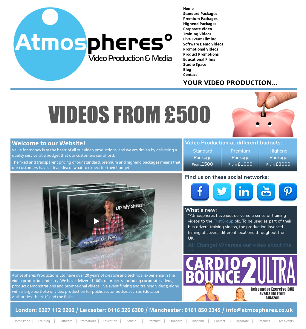 Atmospheres Video Production Competitors, Revenue and