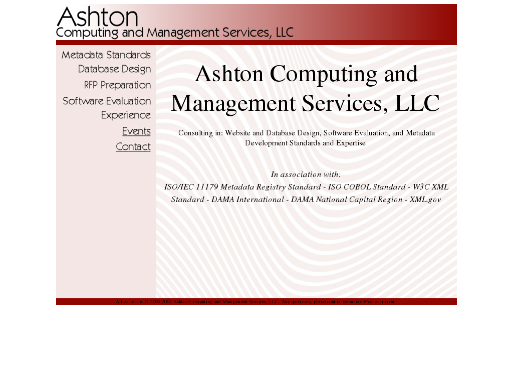 Ashton Computing and Management Services Competitors, Revenue and