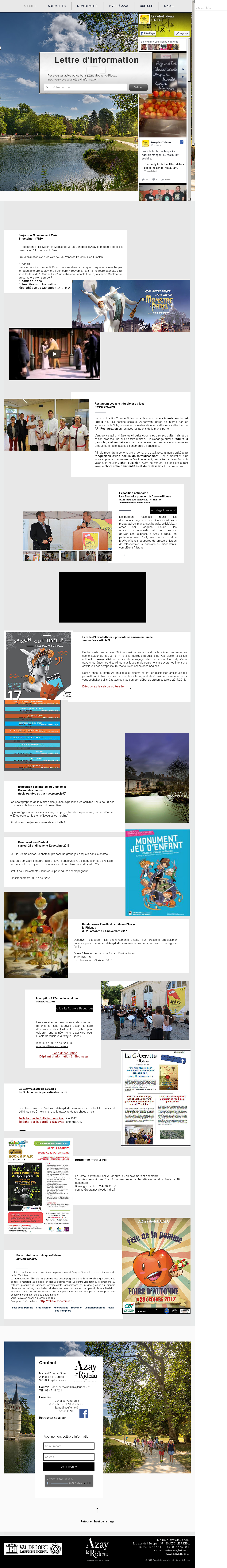 Mairie Azay Le Rideau Competitors, Revenue and Employees - Owler ...