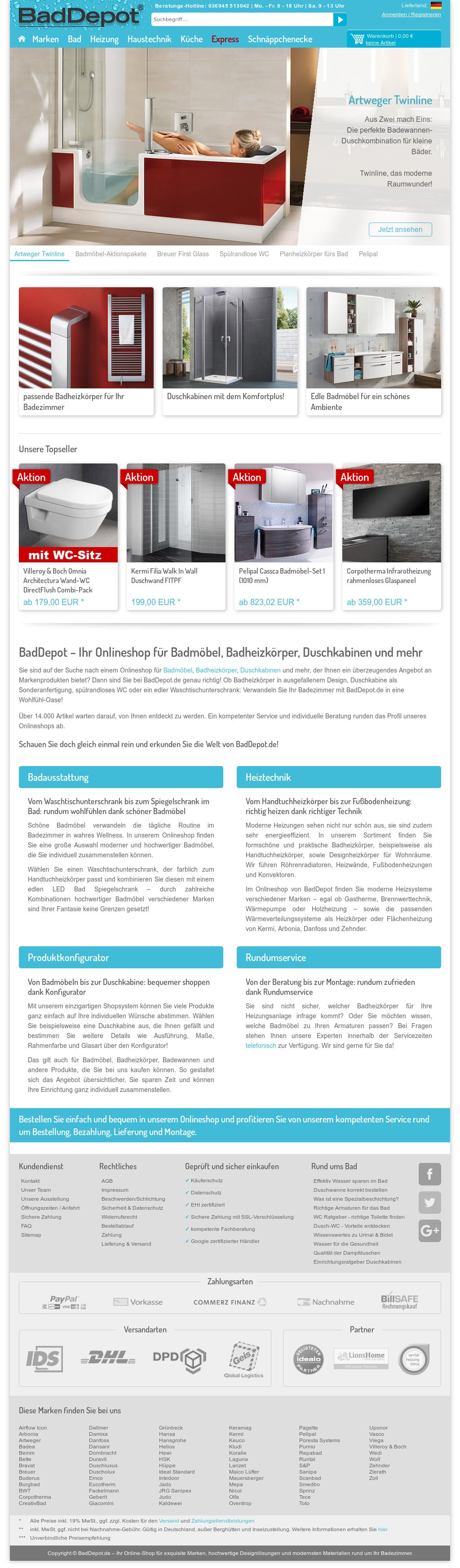 Artweger Deutschland baddepot competitors, revenue and employees - owler company profile