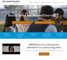 MarketSource website history