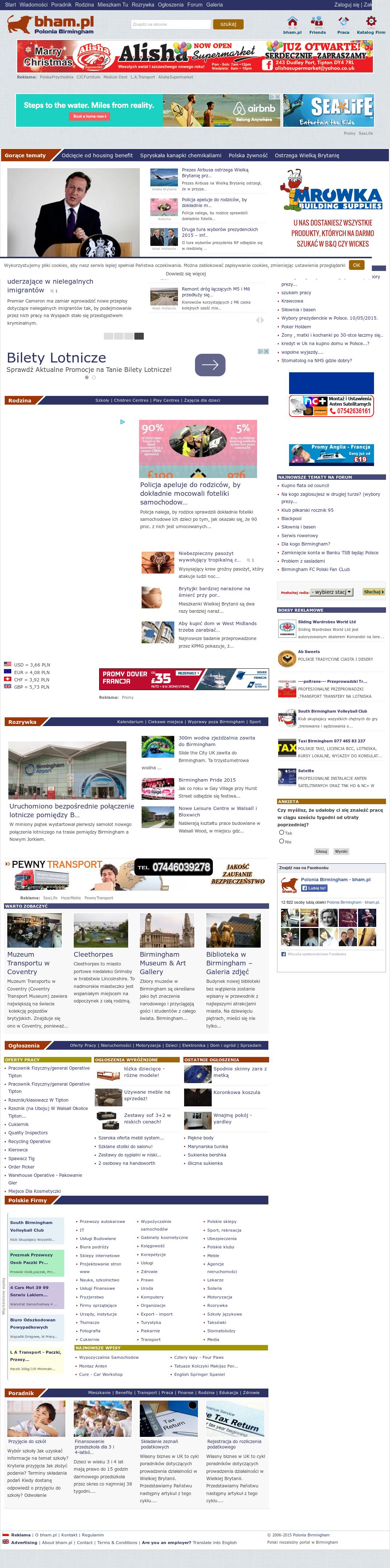 birmingham polonia ogłoszenia