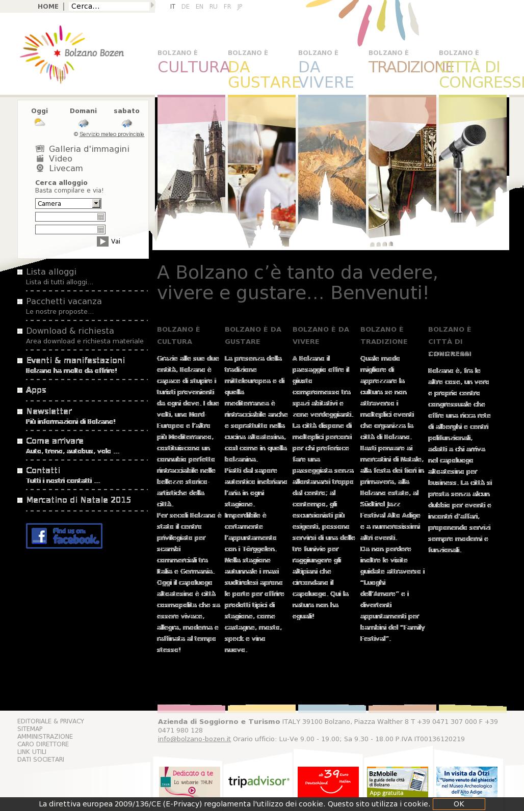 Awesome Azienda Di Soggiorno Bolzano Contemporary - Design Trends ...