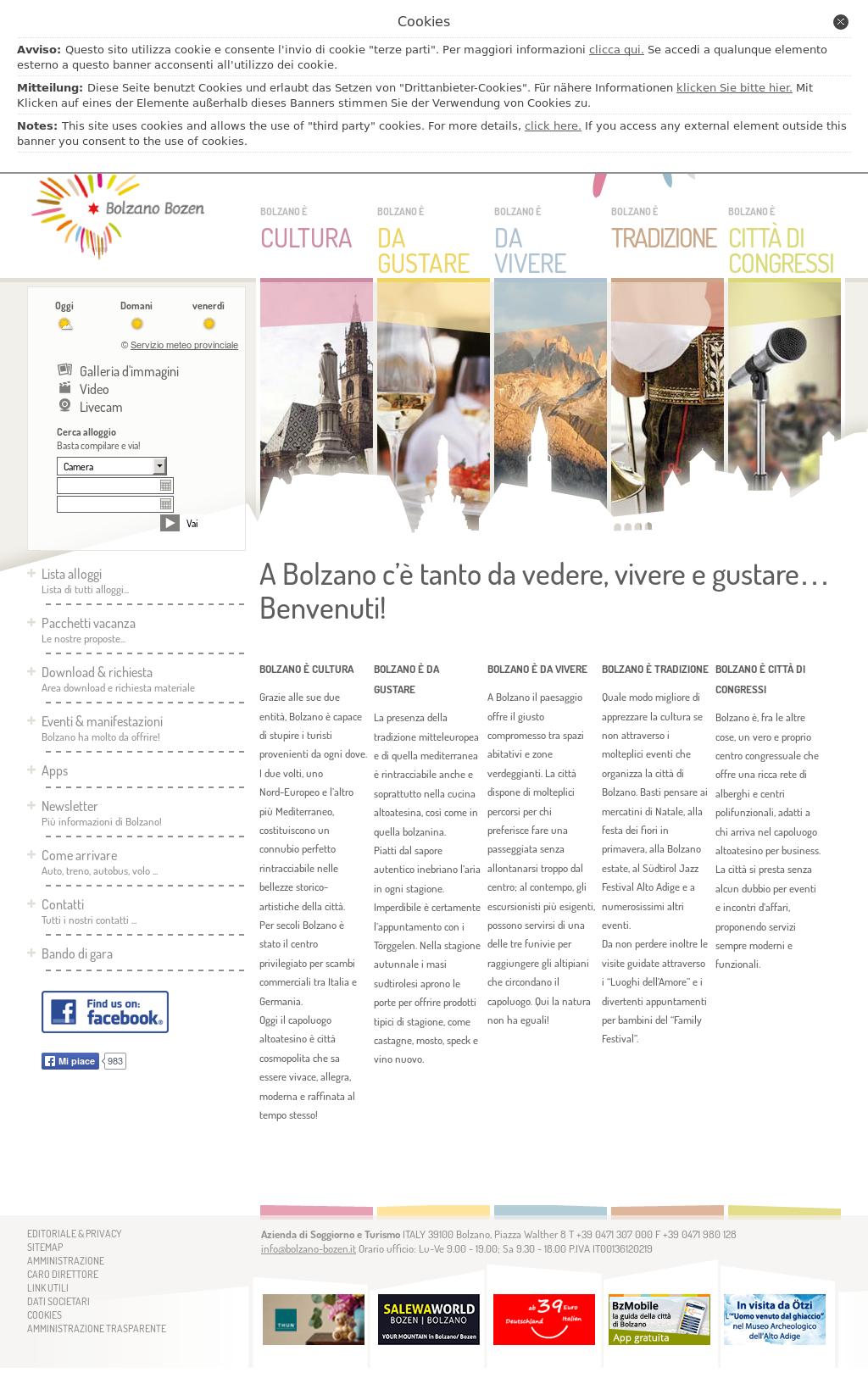 Beautiful Azienda Di Soggiorno Bolzano Gallery - dairiakymber.com ...