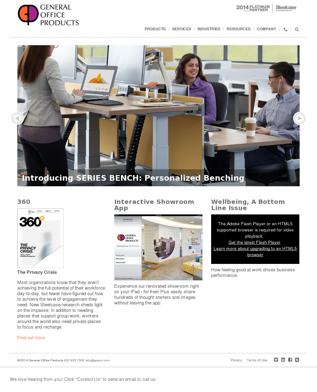 General Office Products Compeors Revenue And Employees Owler Company Profile