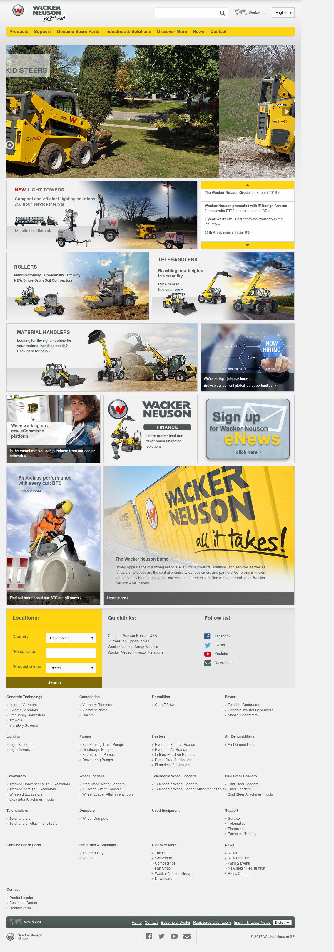 Wacker Neuson Competitors, Revenue and Employees - Owler
