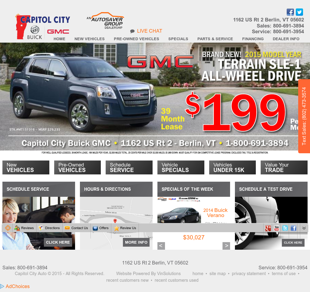 Capitol City Gmc >> Capitol City Buick Gmc Competitors Revenue And Employees