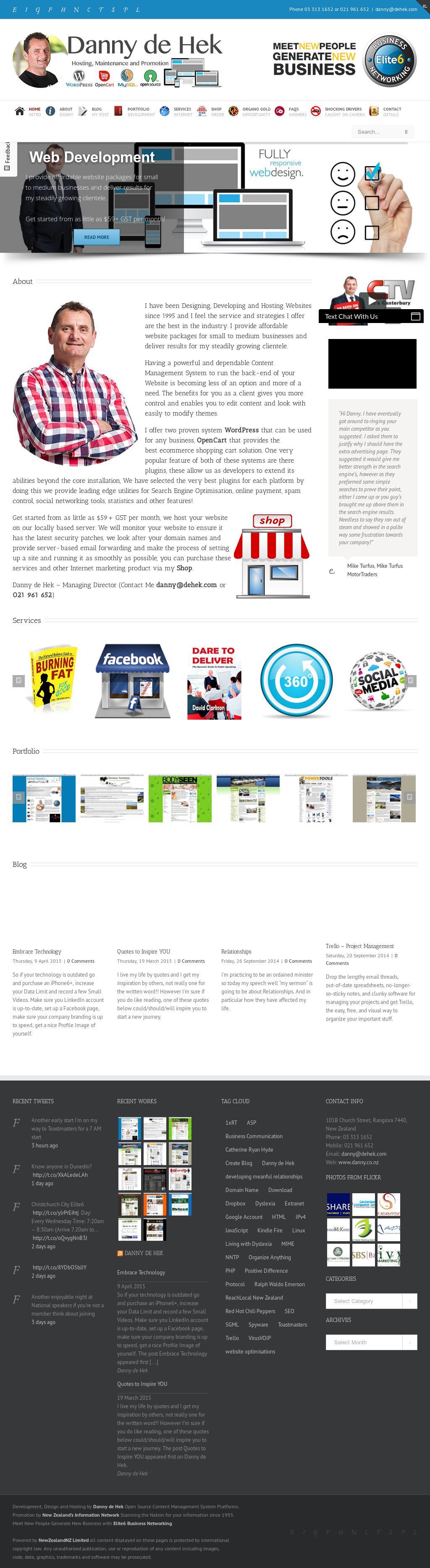 Danny De Hek Competitors, Revenue and Employees - Owler